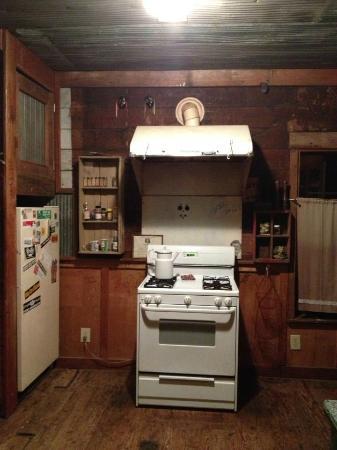 Shack Up Inn: kitchen