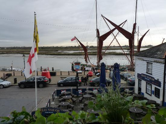 The Jolly Sailor: View from the bedroom