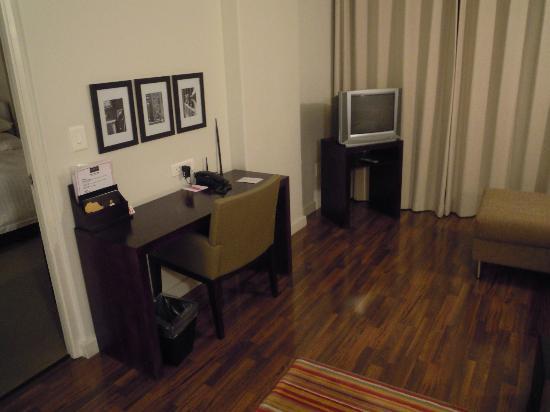 Adderley Hotel: zitkamer