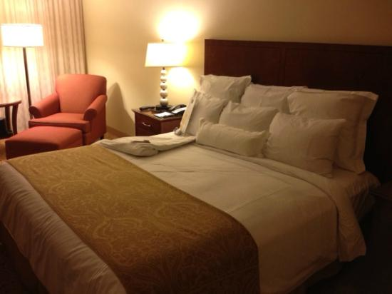 JW Marriott Washington DC: super comfortable bed