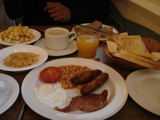 The Charles Stewart Dublin: desayuno