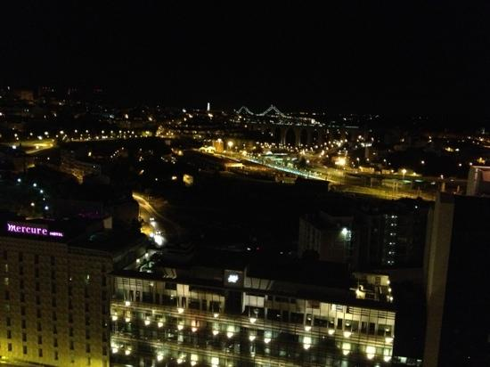 Corinthia Hotel Lisbon: our lovely view from the 21st floor!