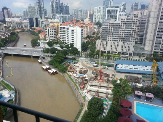 Novotel Singapore Clarke Quay: nice view
