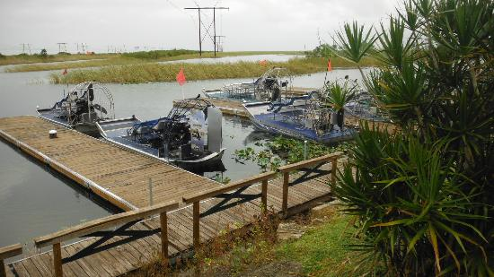 Sawgrass Recreation Park: Airboats