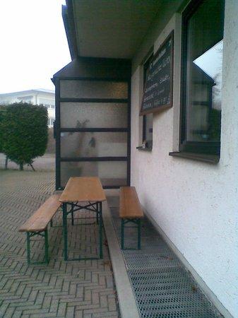 Hotel zur Post : Der Eingang des Hotels