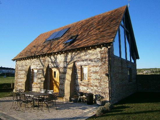 Winterborne Whitechurch, UK: The building is flooded with light from the massive eaves window 