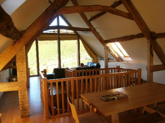 """Winterborne Whitechurch, UK: The interior really has the """"Wow factor"""" """