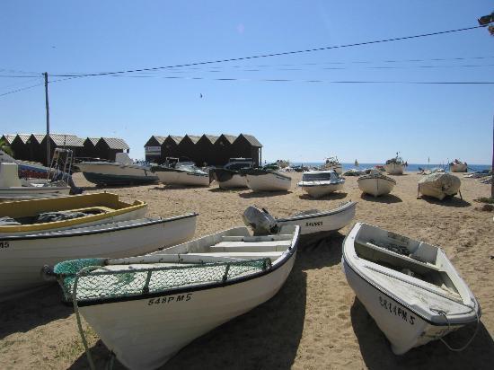 Vila Galé Náutico: Fishing boats, Armacao de Pera