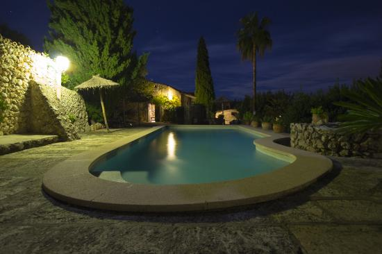 Finca Es Castell: The wonderful pool area