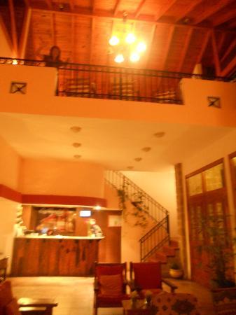 Los Espinillos Hotel & Spa: Recepcion y sala de estar
