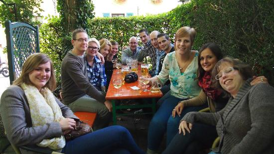 Oberharmersbach, Duitsland: Die Jugend war auch gut drauf