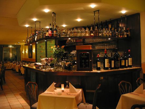 Da Vinci: Die Bar und der hintere Bereich