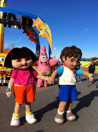 Movie Park Germany: Dora & Diego