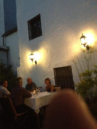 Santiago's Restaurant: The Garden at Night