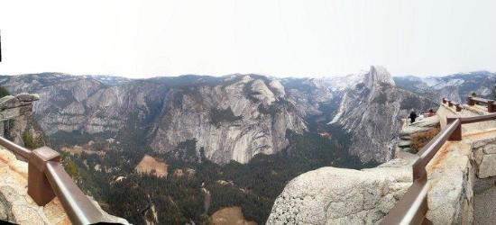 Discover Yosemite: View from Glacier Point