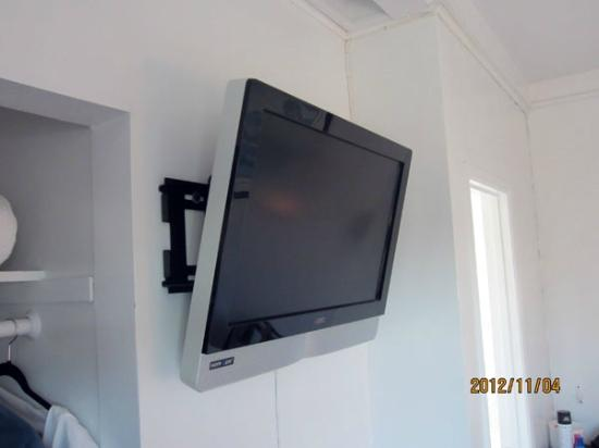 Dolphin Motel: Flat screen TV