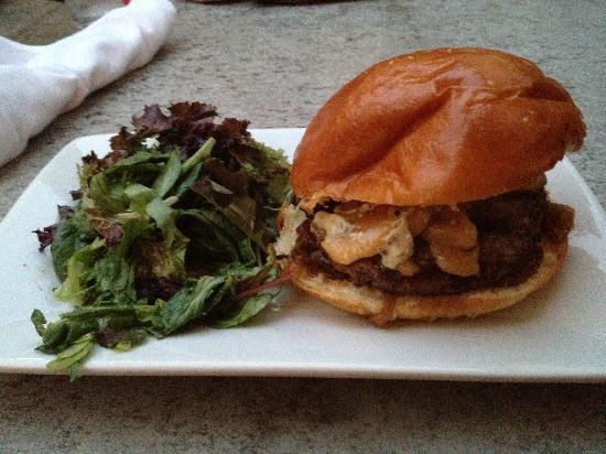 Back abbey burger