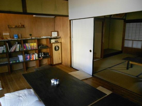 Yuzan Guesthouse: There are several info provided in the main hall