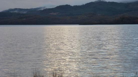 Taychreggan Hotel: Loch view