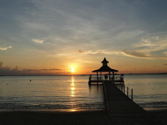 Grand Bahia Principe La Romana: mer et coucher de soleil