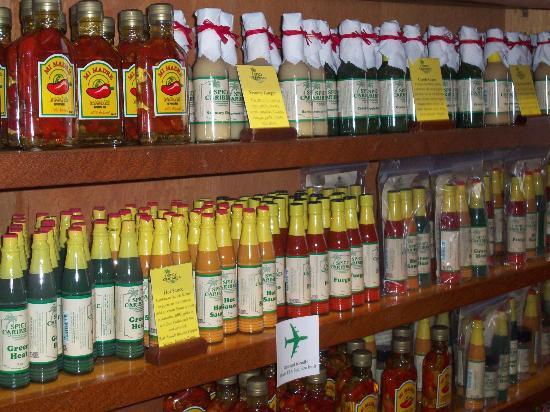 Spicy Caribbee: Sauce anyone?