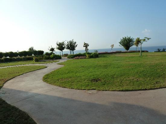 مرمرة أنتاليا: Der schön gepflegte Park