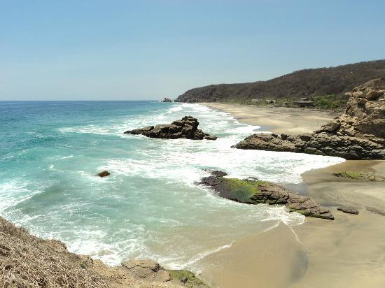 Celeste Del Mar: Vista desde Punta Cometa de Playa Mermejita