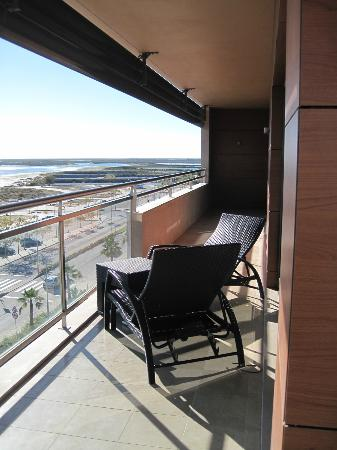 Real Marina Hotel & Spa: The balcony at our suite