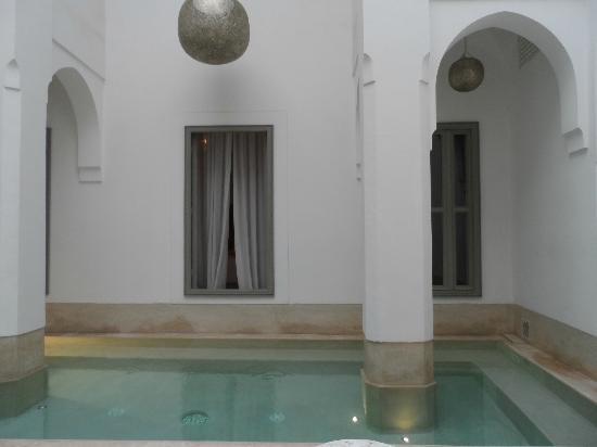 Riad Snan13: Patio interior del Riad