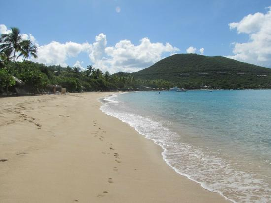 Rosewood Little Dix Bay: Beautiful Beach