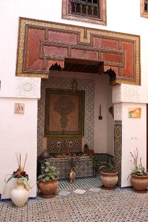 Dar Melody: Sala principale del Riad