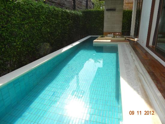‪‪Putahracsa Hua Hin‬: private swimming pool