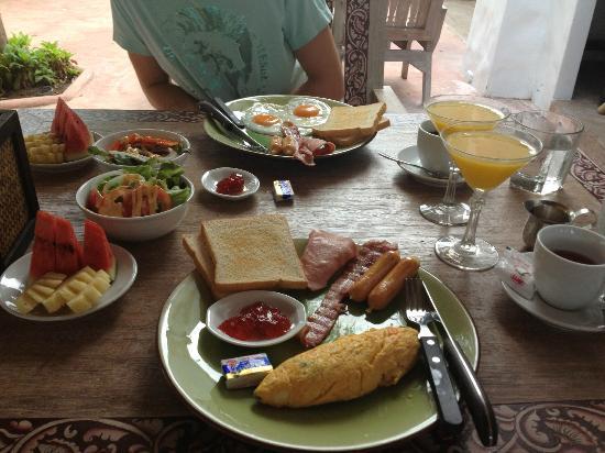 Koh Tao Toscana: pretty nice breakfast every morning