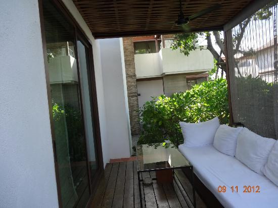 Putahracsa Hua Hin: Room porch