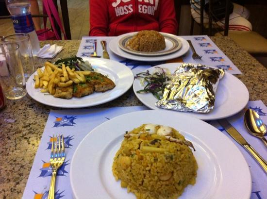 Star Fish Restaurant: riso e vari piatti
