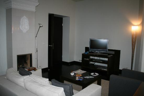 Hotel Bergs: Гостиная