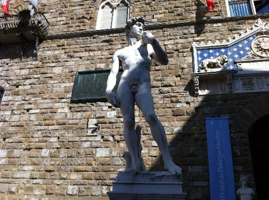 Hilton Florence Metropole: Piazza della Signoria