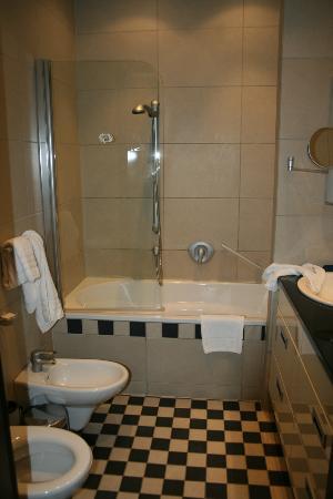 Hotel Bergs: Ванна