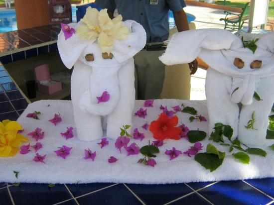 Holiday Inn Resort Los Cabos All-Inclusive: towel creations