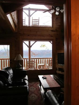 Legacy Mountain Resort: View from living room 
