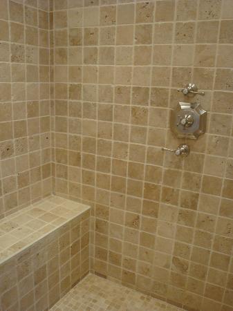 Hôtel Saint-Louis Marais : Room 202 - the left side of the shower