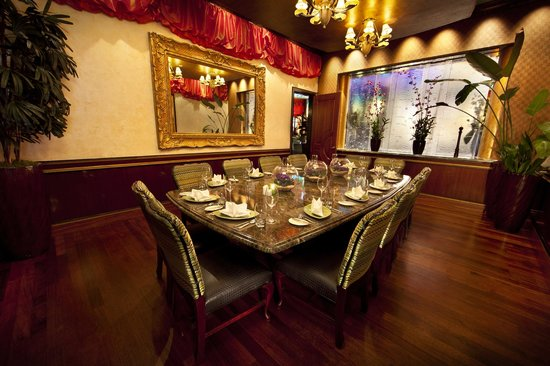Bimini Steakhouse Private Dining Area
