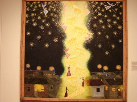 National Museum of Women in the Arts : piece based on the artist's experience with breast cancer