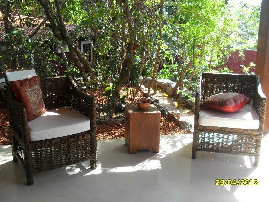 Pousada Terra dos Goitis: confortable sillones para leer