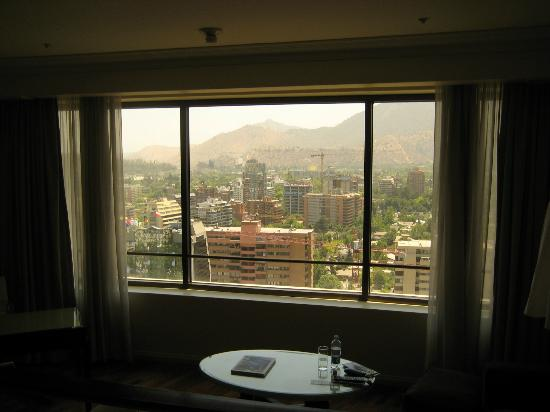 Grand Hyatt Santiago: From the bedroom