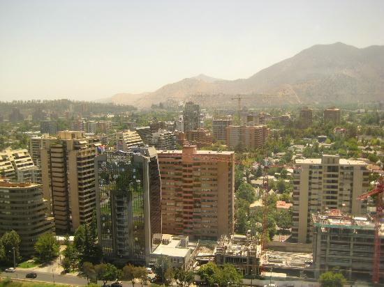 Grand Hyatt Santiago: Looking south