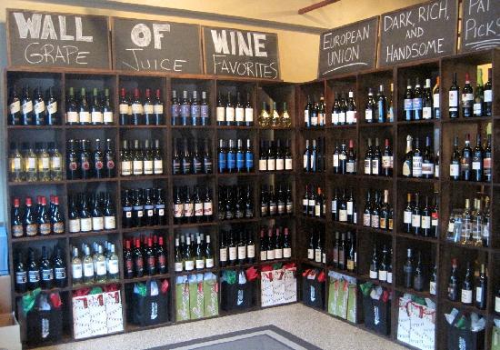 Grape Juice: Wine Shop