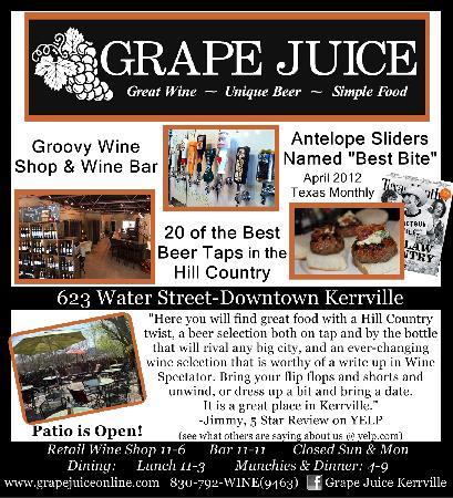 Grape Juice: Ad