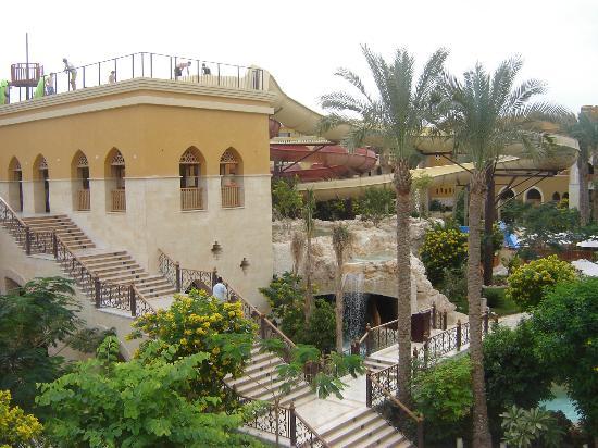 Sunwing Waterworld Makadi Hotel: tobogans