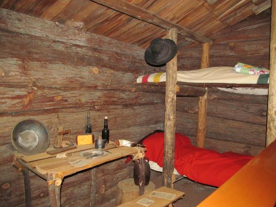 Gold Country Museum: Miners' Bunkhouse